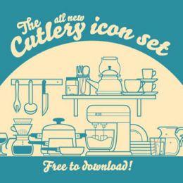 30个免费的美食图标icon下载