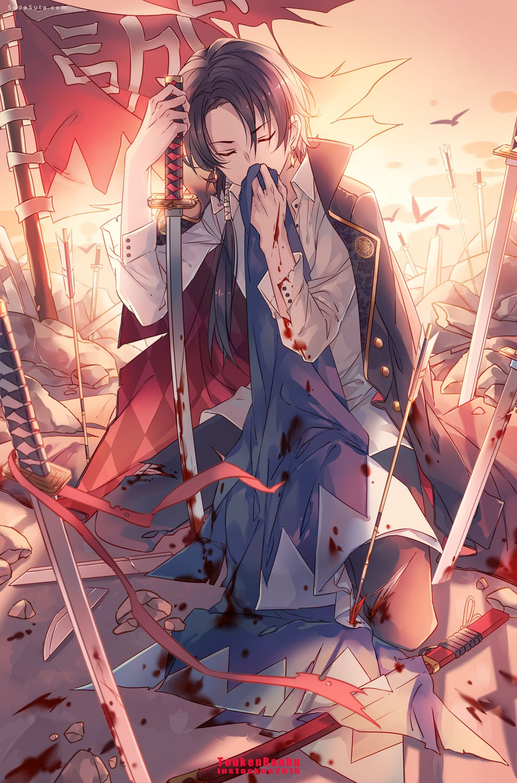 Instockee 剑与少年 漫画cg欣赏
