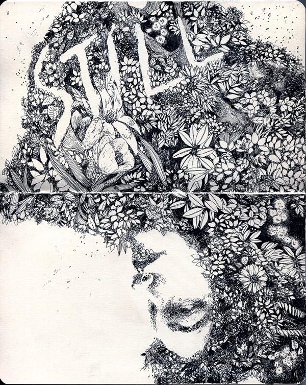 Kero 细腻唯美的手绘装饰插画