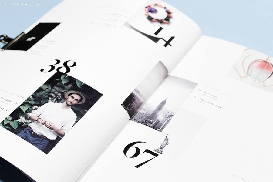 l'ode 杂志设计欣赏