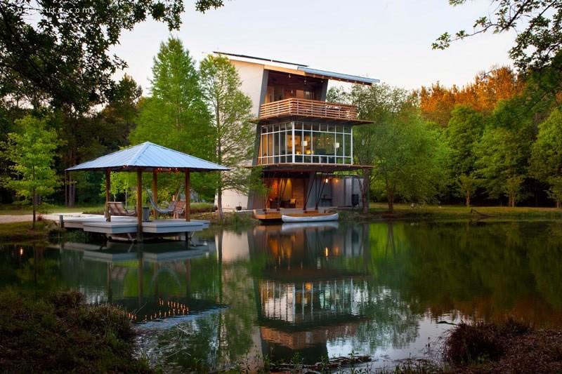 Pond House 建筑设计欣赏