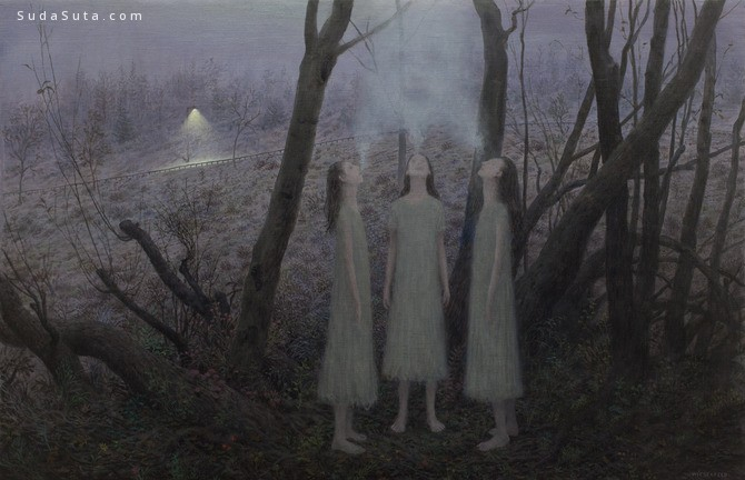Aron Wiesenfeld 绘画艺术欣赏
