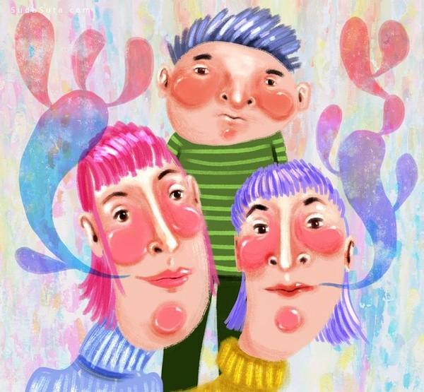 Brianne Burnell 绘画艺术欣赏