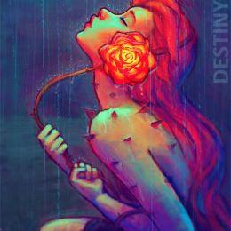 DestinyBlue 甜美的数字艺术作品
