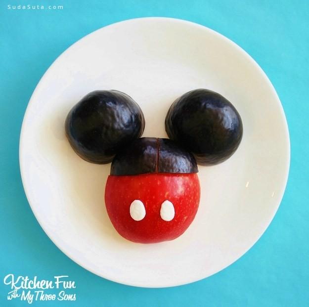 可爱的迪士尼美食设计欣赏