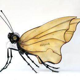 Edouard Martinet 蒸汽时代 手工昆虫设计