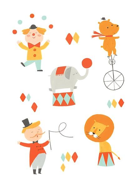 Ekaterina Trukhan 可爱的卡通插画设计欣赏