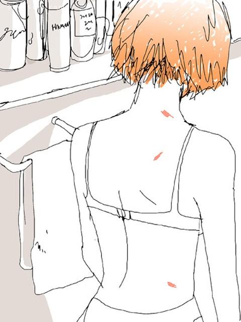 吻痕与占有欲 主题漫画CG欣赏