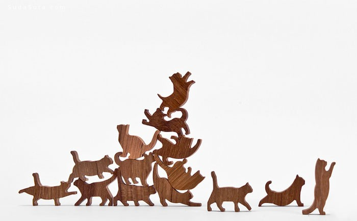 Cat Jenga 可爱的猫咪积木