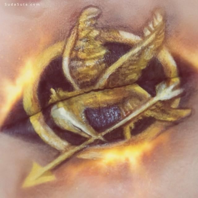 Ryan Kelly 嘴唇的艺术