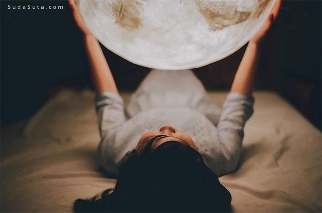 把月亮放进卧室