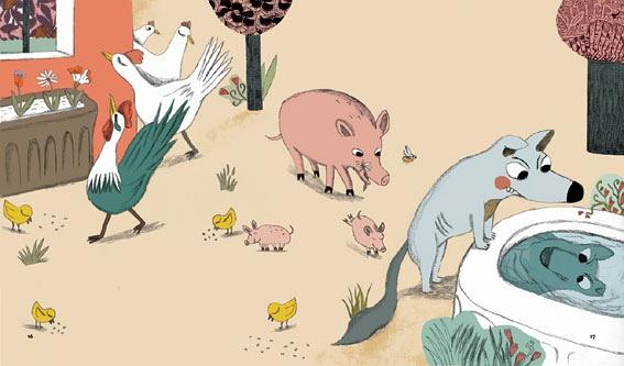 Magali Clavelet 儿童插画欣赏