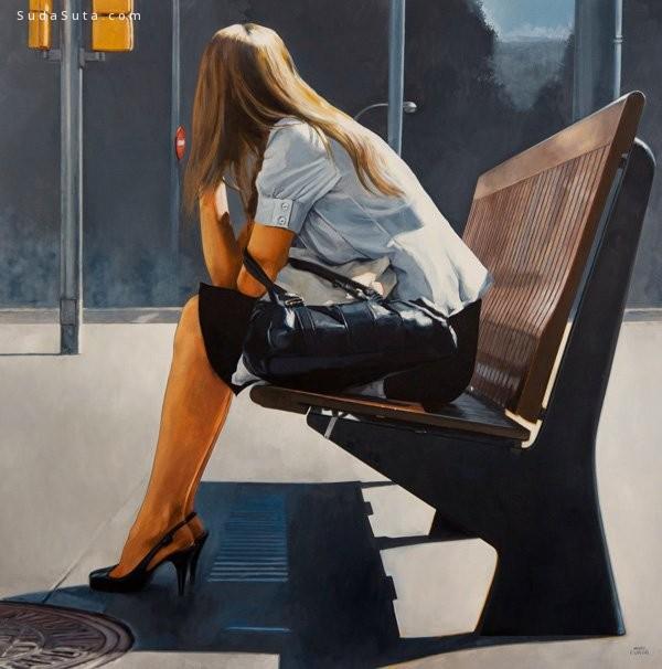 Marc Figueras 超真实的绘画艺术欣赏