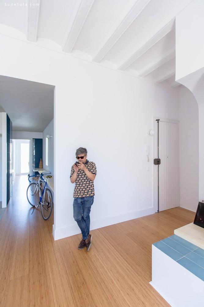 Casa Eulàlia 简约干净的室内设计欣赏