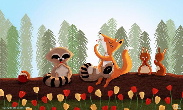 Nidhi Chanani 可爱的儿童插画欣赏