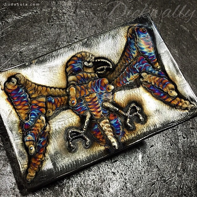 Richard Lauth 焊接雕塑创意欣赏