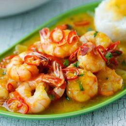 虾吃虾 美食摄影欣赏