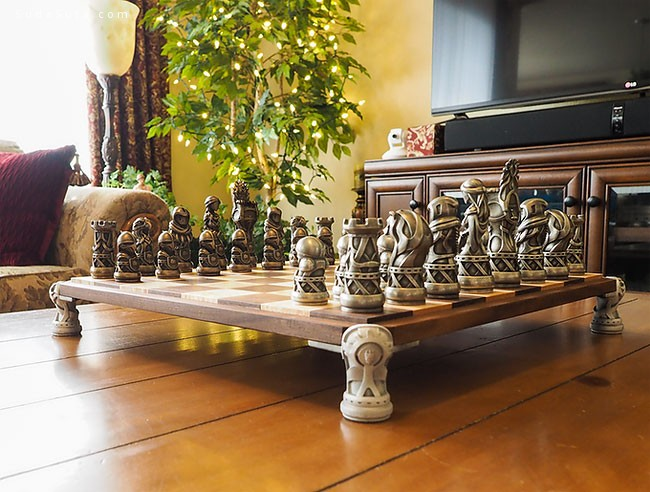 Throne of Kings 国际象棋艺术欣赏