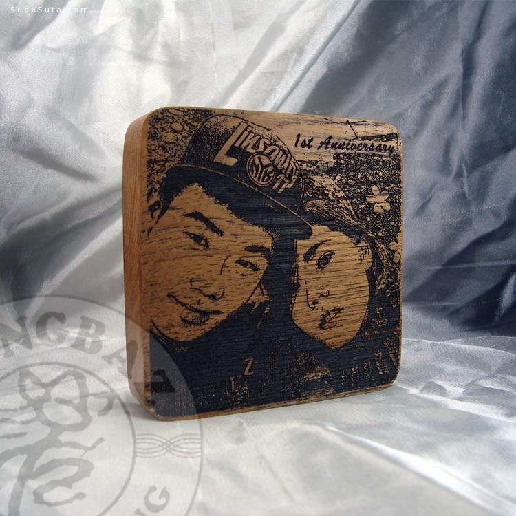 東巴人原創 手工木头刻画
