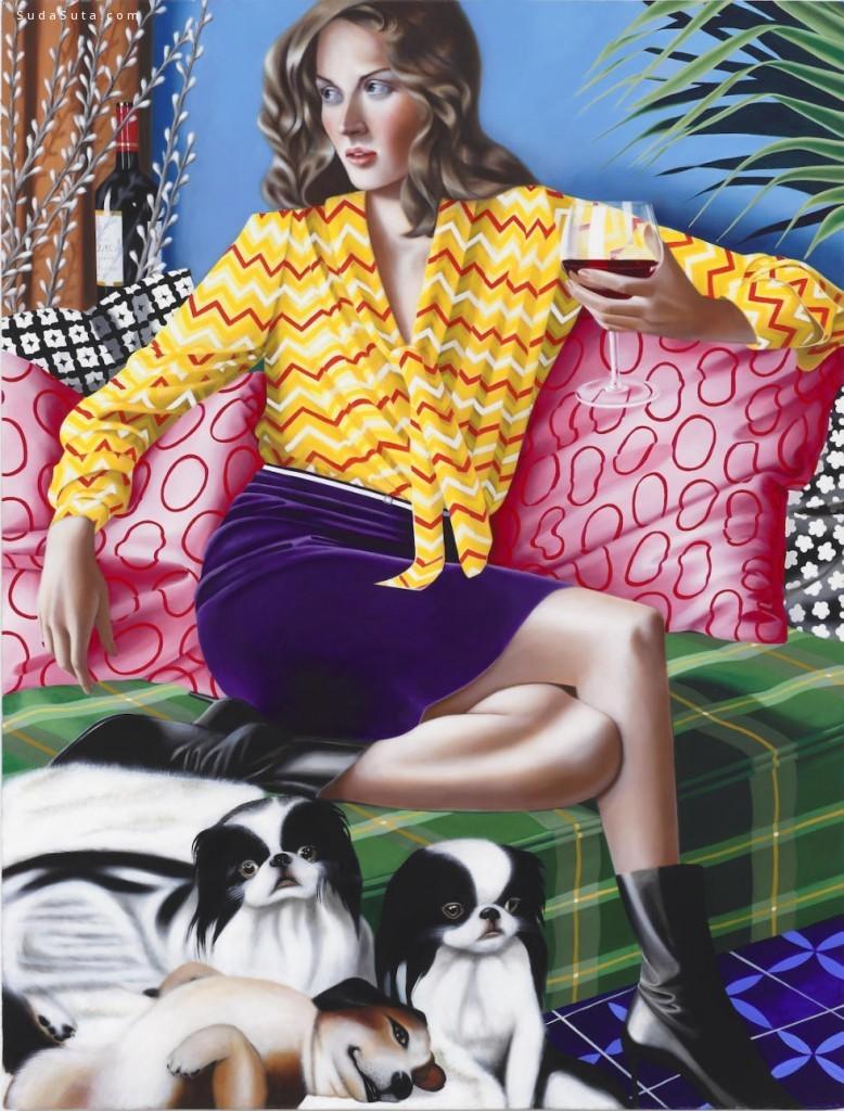 Jocelyn Hobbie 绘画艺术欣赏