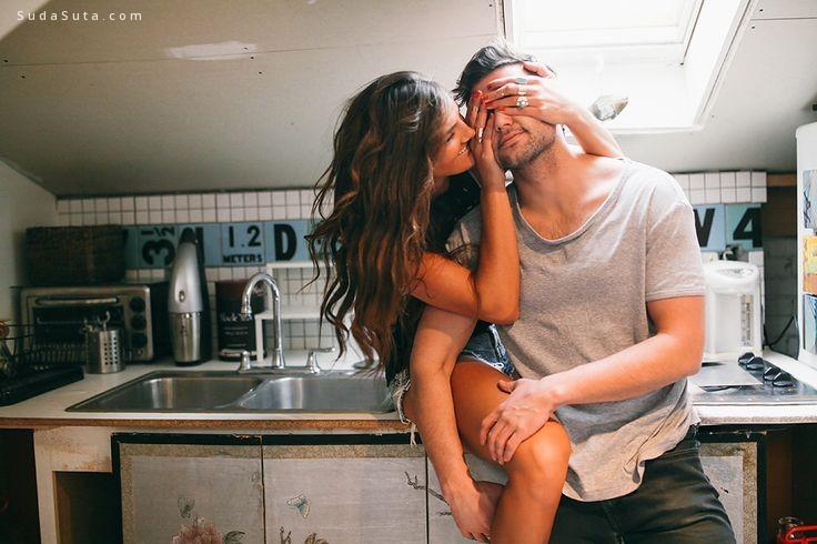 我们相爱 然后亲吻拥抱