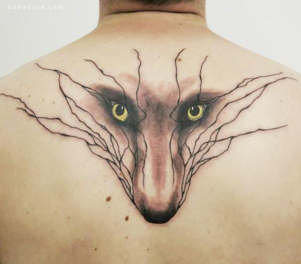 sanne vaghi 自然灵感的纹身设计欣赏