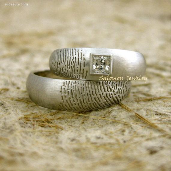 Azia 印刻在心的指纹 创意首饰设计欣赏