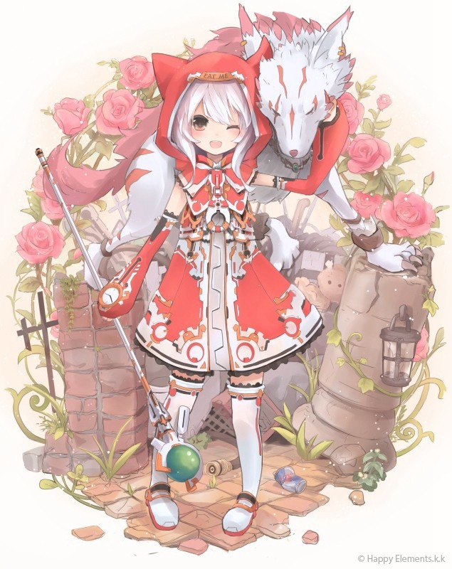 Little red riding hood x wolf anime pictures to pin on pinterest sciox Choice Image