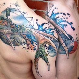Cody Eich 青春潮流纹身设计欣赏