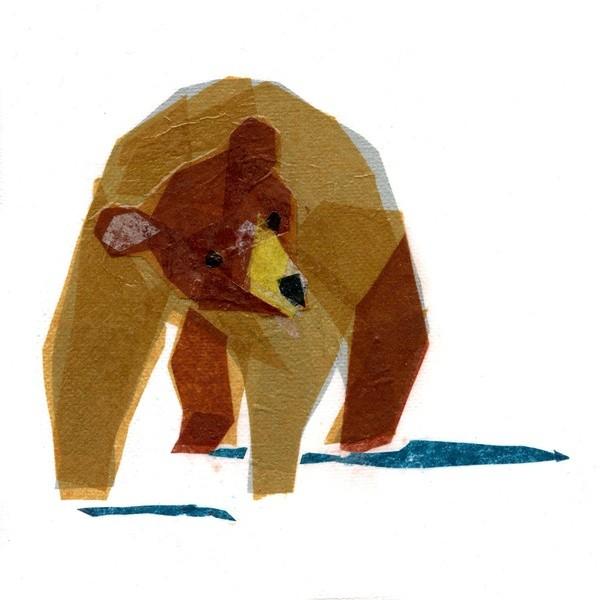 Darrah Gooden 简约抽象的动物插画