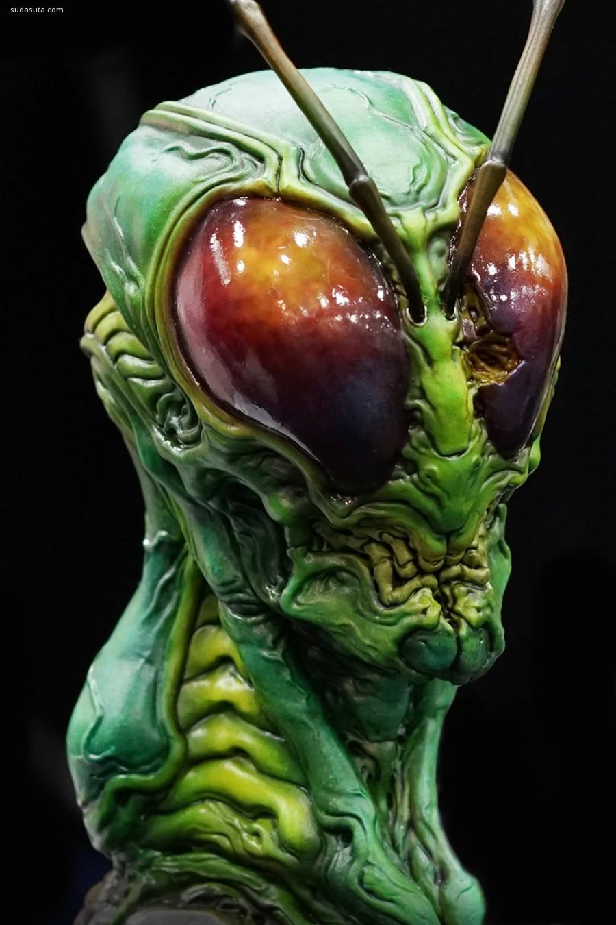 Dominic Qwek 邪恶的3D怪物设计欣赏