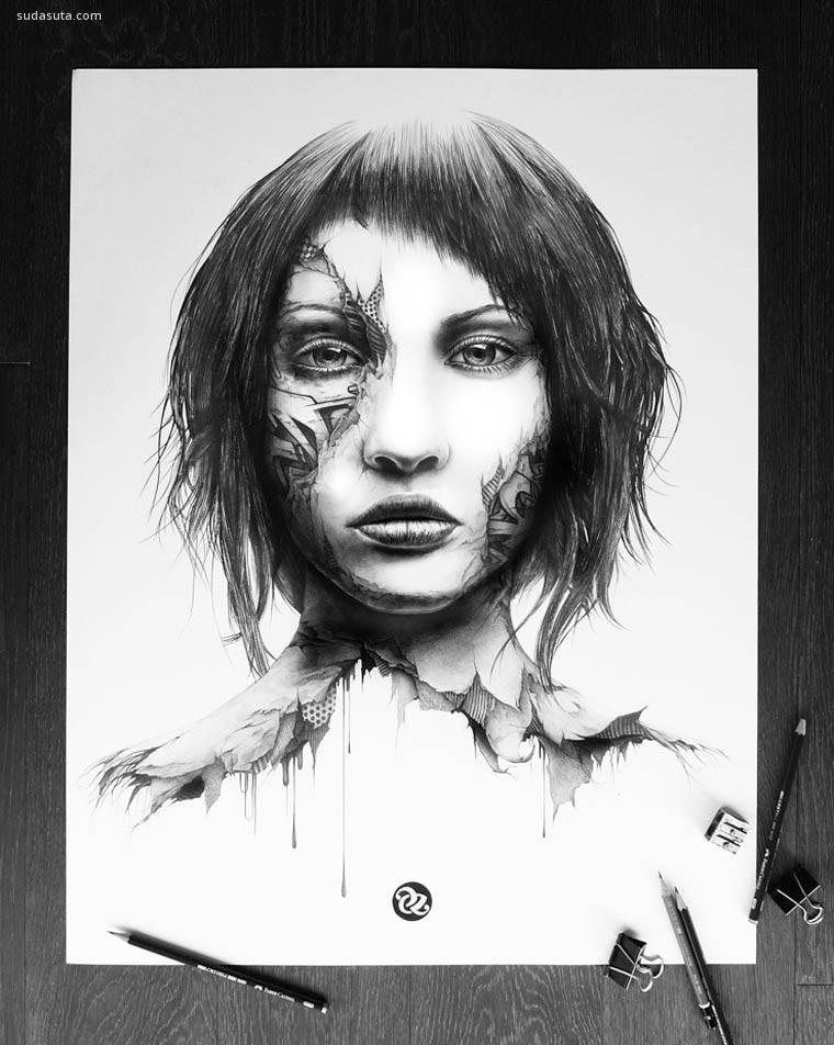 Pierre-Yves Riveau 手绘涂鸦本子