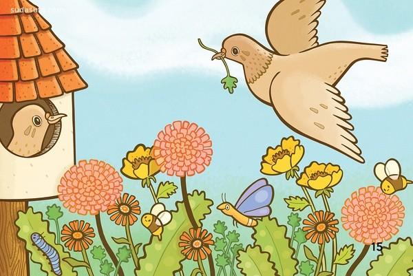 Erica Sirotich 儿童插画欣赏
