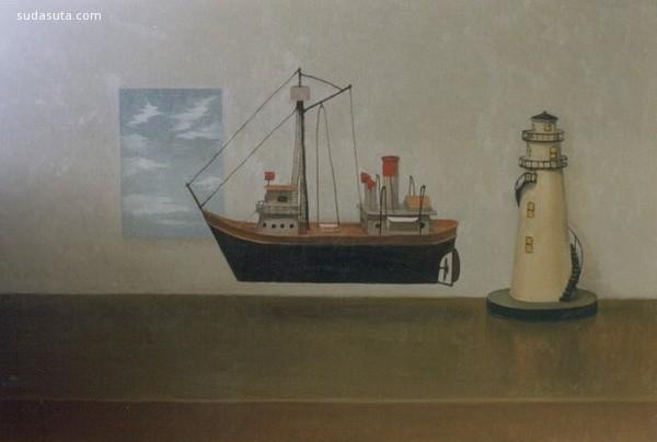 萩原始 手绘艺术欣赏