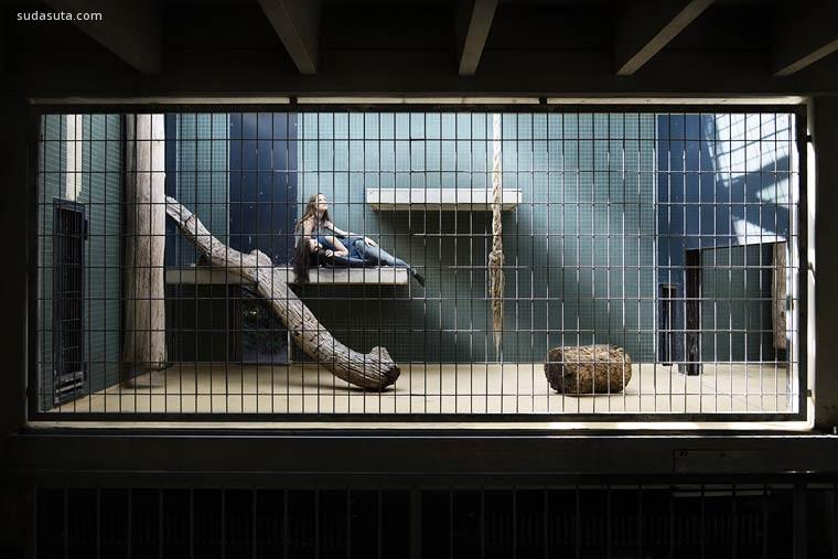Patrice Letarne 系列摄影《Human Zoo》