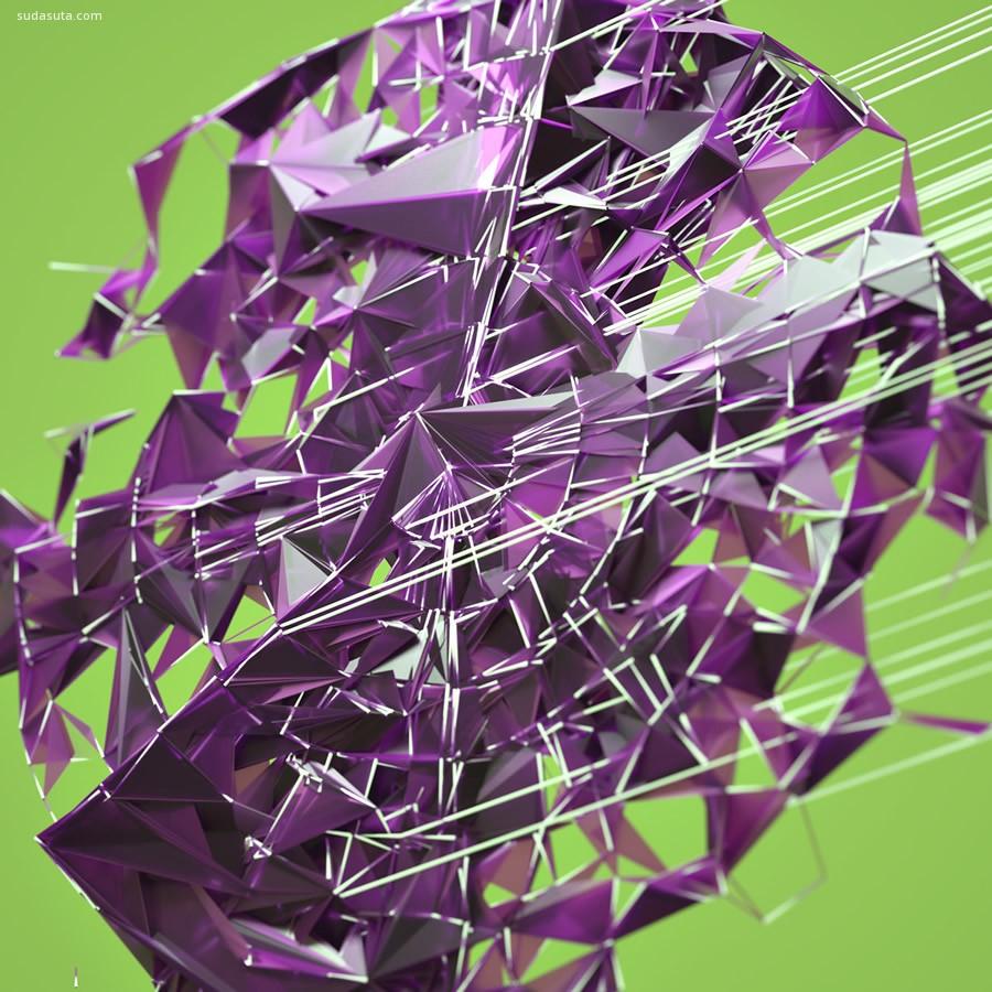 Joey Camacho 抽象迷人的3D艺术欣赏