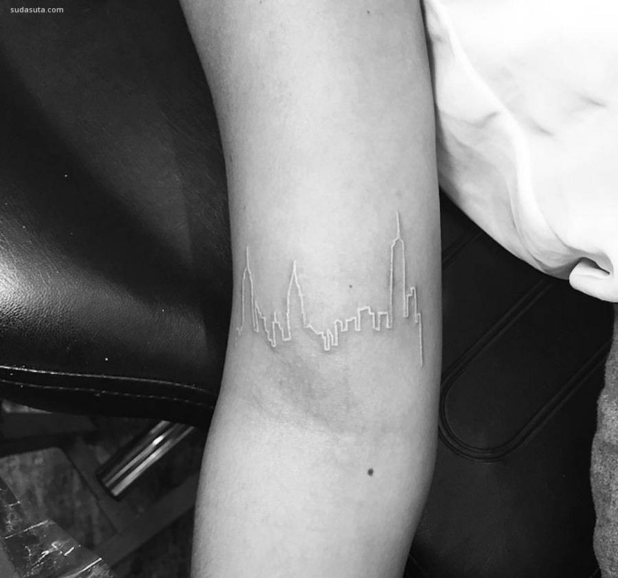 Jon Boy 极简主义纹身计欣赏