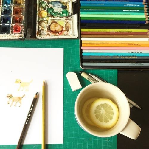 Lorna Scobie 生活与绘画
