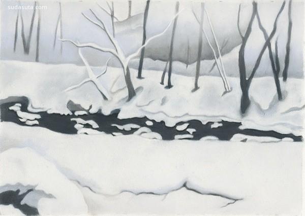 高井雅子 生活中的细微描绘 手绘艺术欣赏