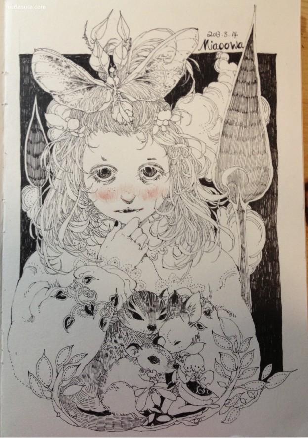 Miaoowa 的绘画本子