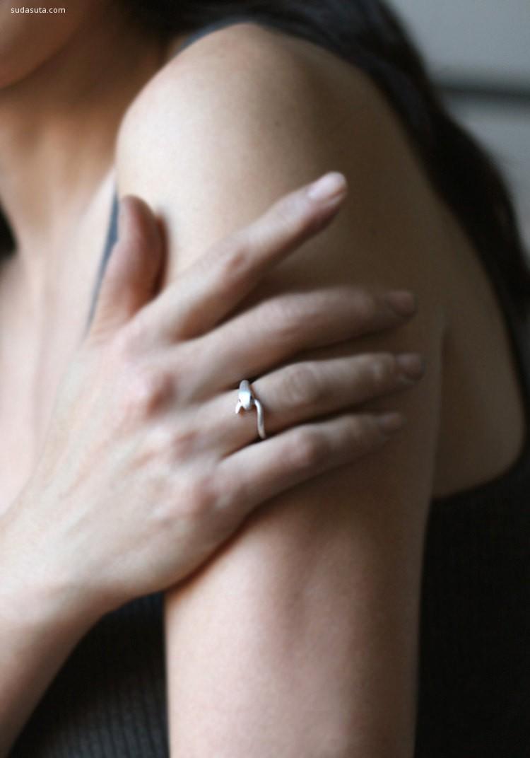 Michelle 安静简约的手工首饰设计欣赏