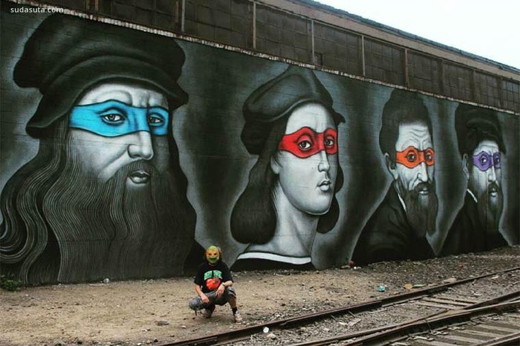 Owen Dippie 街头艺术欣赏