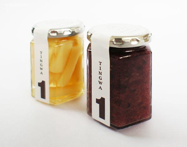 主题包装设计欣赏 透明的瓶子