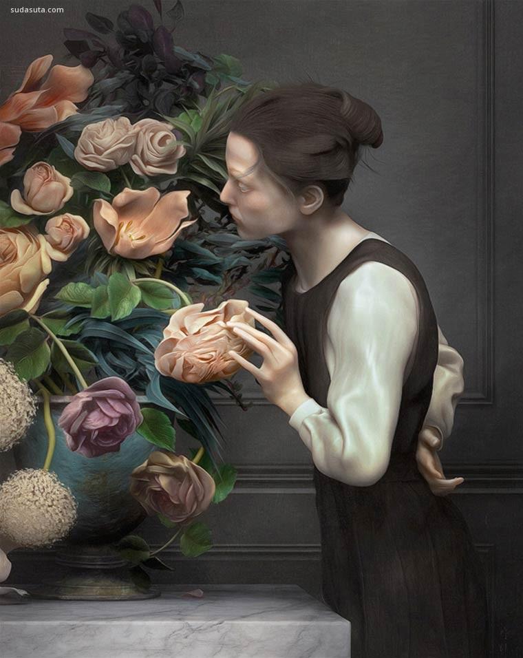 Rafael Ochoa 古典主义绘画艺术作品欣赏