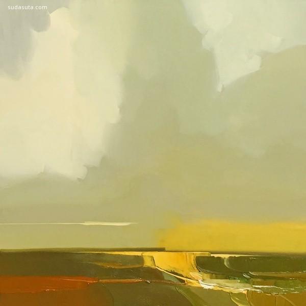 Robert Roth 唯美的云朵 手绘艺术欣赏