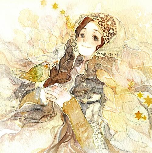 Rune 清新可爱的水彩插画欣赏