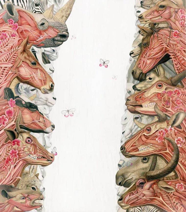 Tiffany Bozic 超现实主义绘画艺术欣赏