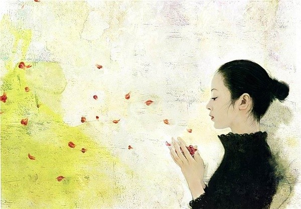 Violetno 关于爱的手绘