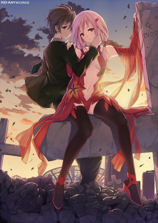 《罪恶王冠》主题动漫CG欣赏