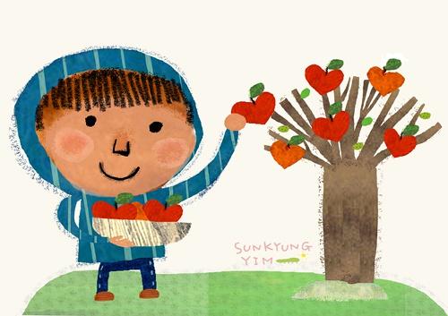 Yim Sun Kyung 儿童插画欣赏
